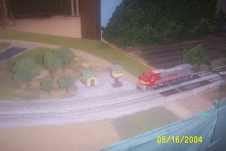 Shaun C.'s BNSF Road Number 557 Enginge running on DCC